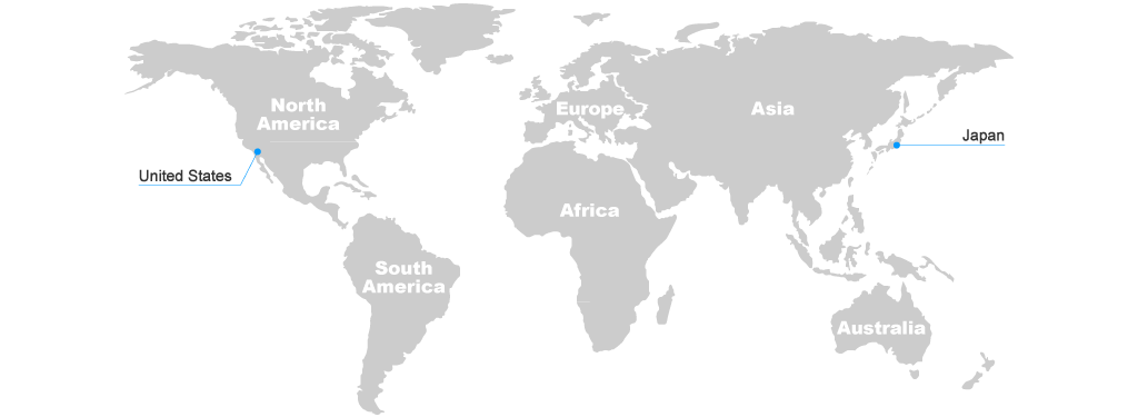International agency asahi spectra usa inc image world map gumiabroncs Images